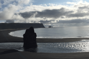 Visit The Black Lava Beach in Iceland with GJ Travel