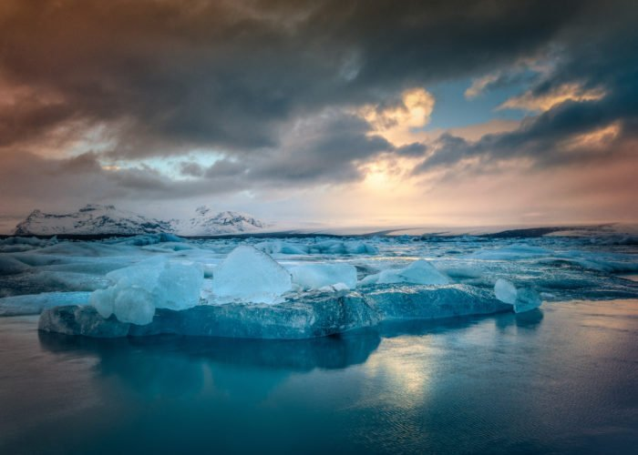Visit Iceland with GJ Travel and visit the Glacier lagoon