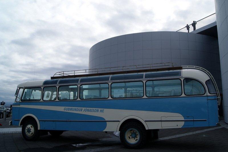 Antique bus | Bus rental | Iceland | GJ Travel