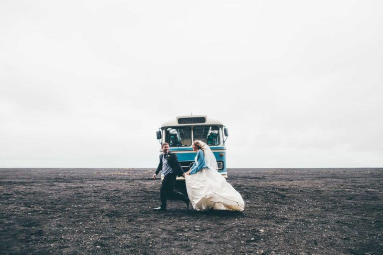 wedding photo, south iceland
