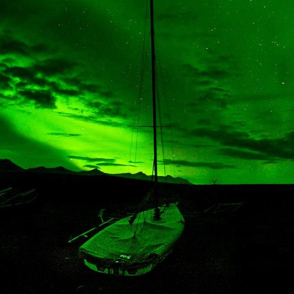 banners - norhthernlightsboat